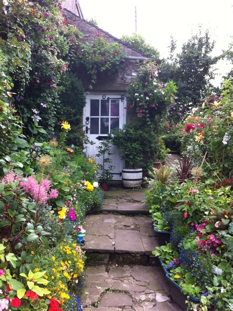 Country Cottage Garden  Gardens  Pinterest Gardens
