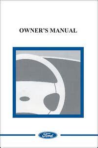 ford    owner manual portfolio kit canadian