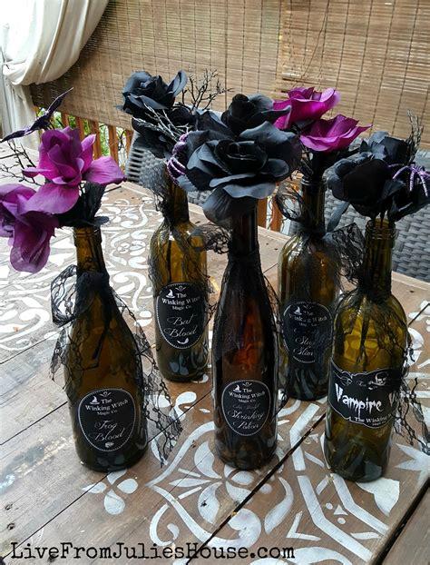 Halloween Decor On The Cheap Pretty Poison Vases Live