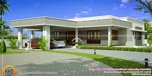 Lovely Modern Flat Roof House Plans - New Home Plans Design