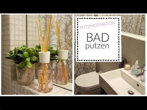 Putzmotivation  Bad Putzen  Putzroutine Badezimmer