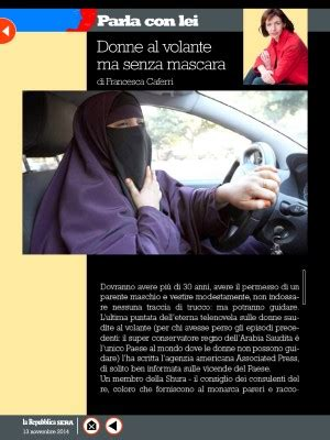 Donne Al Volante Senza Donne Al Volante Ma Senza Mascara Repubblica It