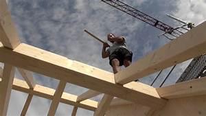Holz Für Dachstuhl : nur holz dachstuhl setzen youtube ~ Sanjose-hotels-ca.com Haus und Dekorationen