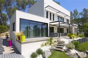 Belle Maison Moderne : une belle maison moderne en provencemaison moderne ~ Melissatoandfro.com Idées de Décoration