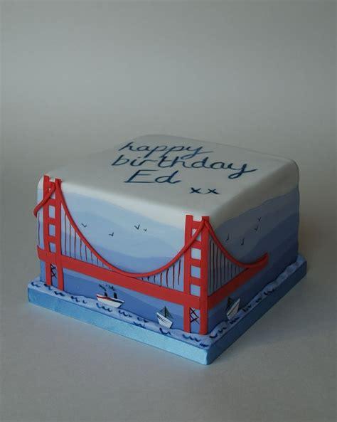 golden gate bridge cake  sweet life cakes  emily