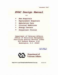 Ashrae Hvac Design Manual For Hospitals And Clinics Pdf