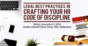 Craft Your Hr Code Of Discipline The Right Way
