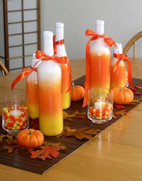 ideas homemade centerpiece for parties my home design 40 easy to make diy halloween decor ideas diy crafts