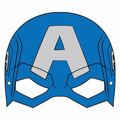 Captain Mask America Template Paper Craft Printable