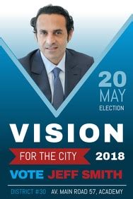 election poster templates word templates