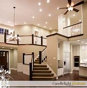 Home Interior Lighting Homebuilder Home Staircase Railing Lighting Interior Lights