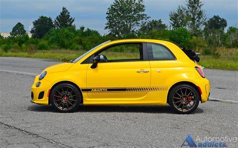 Fiat Cabrio by 2016 Fiat 500c Abarth Cabrio Spin