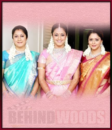 actress nagma and jyothika sibling rivalry in tamil cinema behindwoods