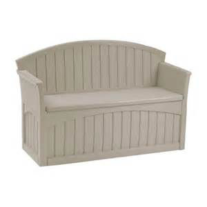 suncast 50 gallon patio storage bench reviews wayfair