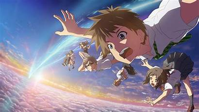 Mitsuha Taki Sayaka Anime Miki Tachibana Okudera