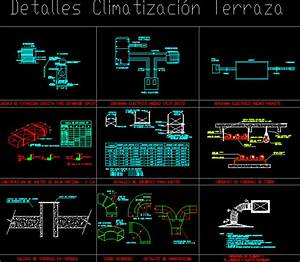Details Hvac Terrace Dwg Detail For Autocad  U2022 Designs Cad