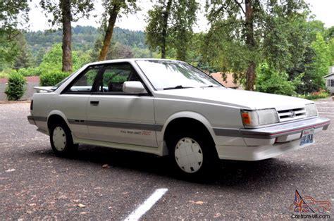hayes auto repair manual 1989 subaru leone transmission control 1989 subaru leone rx all wheel drive turbo survivor original no reserve