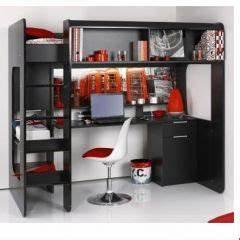 lit mezzanine pour adolescent en promotion meubles With chambre ado garçon avec choisir un matelas de qualité