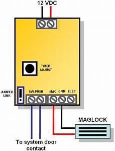 Door Release Relay  U0026 Typical Installation Sc 1 St
