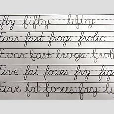 Lester Cursive Could Be Headed For A Comeback #dysgraphia