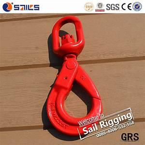 China High Tensile Drop Forged G80 Self Lock Swivel Hook