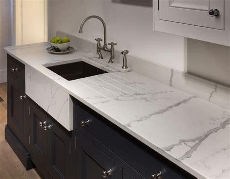 marble effect quartz  pws worksurfaces strata