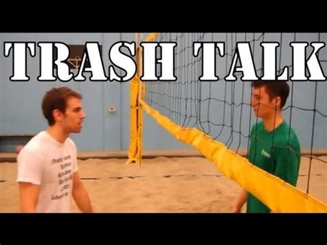 How To Trash Talk In Volleyball  Youtube