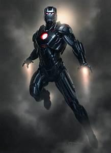 IRON MAN 3 Armor Concepts: Mark 42, Silver Centurion ...