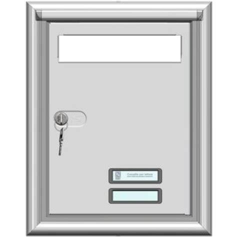 cassette lettere incasso porta incasso con buca lettere silmec from category