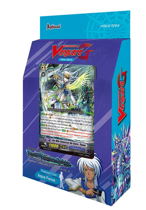vanguard trial deck 6 cardfight vanguard g trial deck vol 4 blue cavalry of