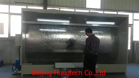 ce approved water curtain spray booth buy open
