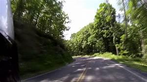 West Virginia    Virginia U S  Route 250 West On A Honda Vfr800  Part 1 Of 2   Very Twisty