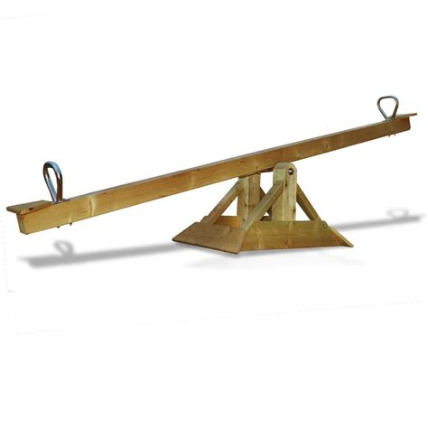 balancoire 224 bascule en bois massif 85 kg
