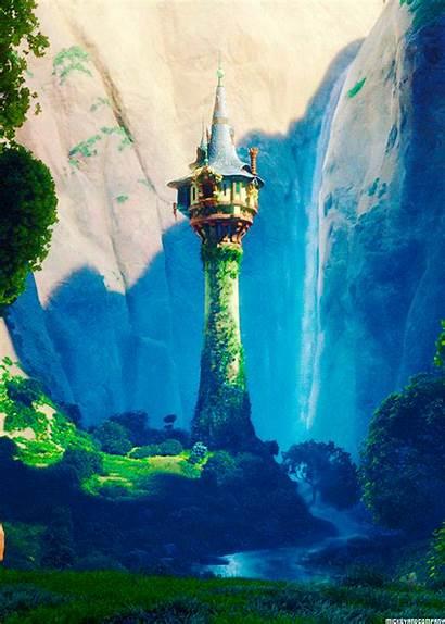 Tower Rapunzel Hidden Princess