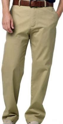 chinoed wearing khakis      man