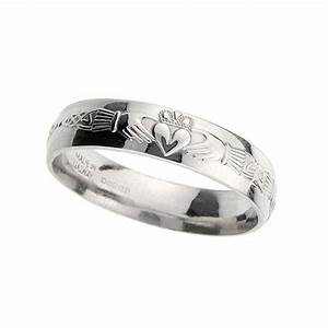 gents platinum claddagh celtic wedding ring With platinum celtic wedding rings