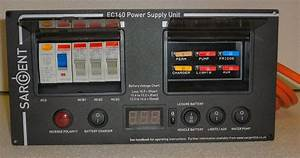 New Digital Sargent Ec160 Power Supply Unit Black