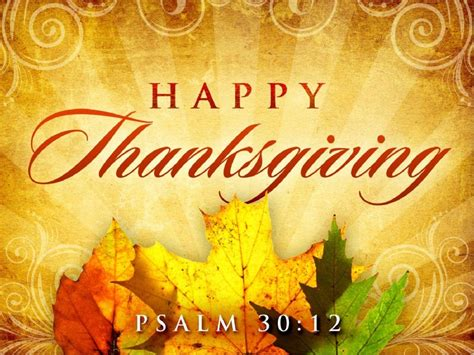 happy thanksgiving leaves church video church service