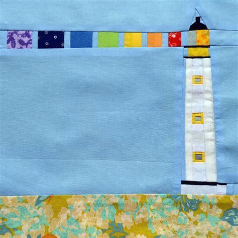 Rainbow Lighthouse Block Pattern   FaveQuilts.com