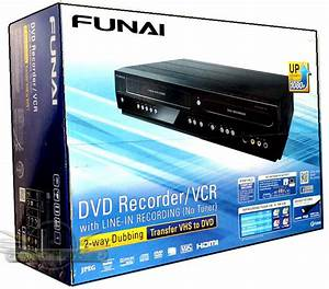 Funai Zv427fx4 Vcr And Dvd Recorder Player With Hdmi 1080p