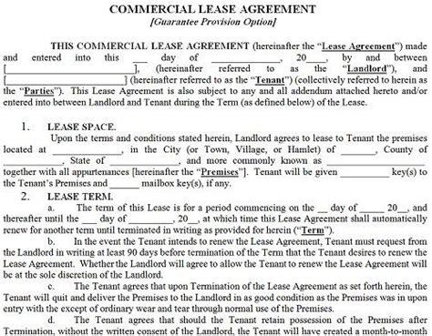 Commercial Sublet Lease Agreement Template Erieairfair