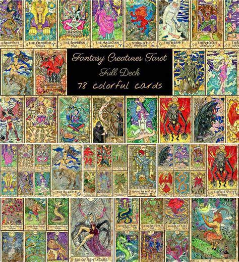 fantasy world tarot full deck