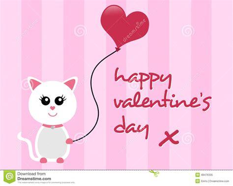 Happy Valentine's Day Cat