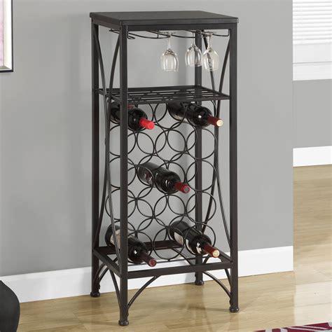 monarch specialties   bottle floor wine rack