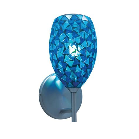 jesco lighting 1 light low voltage blue companion wall