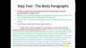 Toefl writing templates independent essay youtube for Toefl writing template independent