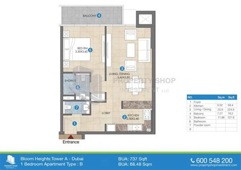 floor plans jumeirah heights bloom heights in dubai