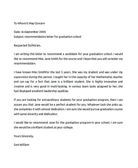 sample college recommendation letter  documents
