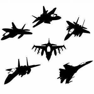 Fighter Jet Silhouette - ClipArt Best - Cliparts.co