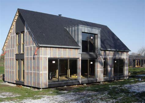 chaumezon autoconstruction d une maison 224 ossature bois dans le morbihan 56 maisoneco